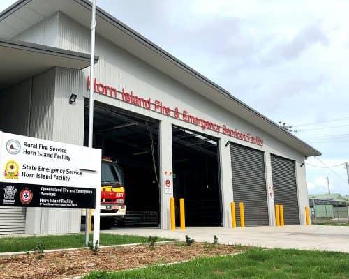 Horn Island Fire Station Builders